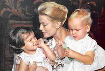 Princess Grace..Fairy Tale Princess... / Grace Kelly ..Movie Star.. To Princess of Monaco / by Linda Sherrin