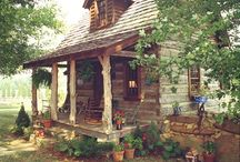 My Off-Grid Cabin / Ideas for the small cabin I've been dreaming of! And off-the-grid homesteading/farming! And survival ideas and tips! / by McKenzie (Bat'Yah)
