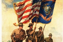 W ~ Over There ...Say A Prayer....WWI*WWll* /  WWl* WWll*  and we won't Come Back Till It's Over Over There !!!  Men Who Fought and Died for our Freedom ...  / by Linda Sherrin