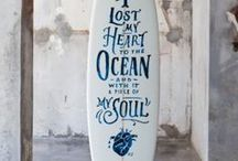 Step into liquid / Inspired by the Dana Brown documentary (Step into liquid) this board is a visual representation of the the life I have, the one I want to have and the things I love. It is about more than the ocean and surfing, for me this is a way of life with many aspects to it. Remembering to step into liquid is my way of refreshing my soul by keeping that organic connection. / by Rory Yates