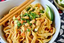 NOODLE AND PASTA DISHES / by Carmen Bravo