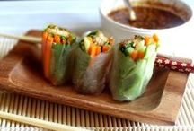 SUSHI, STIR FRIES, AND MORE... / by Carmen Bravo