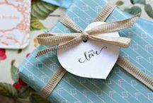 gift wrapping / by Emma Louise