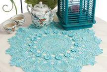 DOILIES: crocheting & knitting / by Darievna