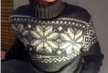MEN: knitting and crocheting / by Darievna