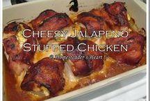 chicken dishes / by Debbie Karajankovich