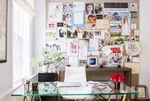 Mama CEO :: Home Office / You need a dedicated space to work your business magic. (Where no one will spill their cheerios on your laptop) / by Megan Flatt