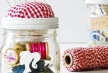 Jars n things / decorative, safe keeping, collecting in jars / by Lana McKelvy
