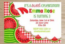 Cakes And Kids Designs / Newest line of products from Cakes And Kids - printable party invitations! / by Cakes And Kids