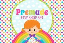 Cakes And Kids Etsy Shop Sets / by Cakes And Kids