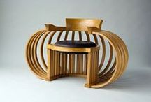 BENTWOOD FURNITURE / Thonet brought bentwood to an art form.  Others have improved on it. / by Ronni Rittenhouse