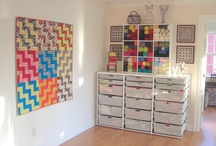 Long Arm Quilting Studio Ideas / by Buttons and Butterflies