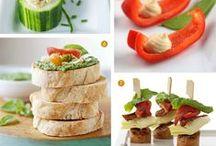 Hapjes hartig / appetizers / by Marielle van der Kaag