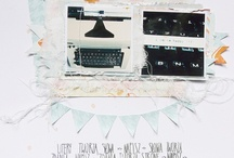 scrapbooking / by Kasia Przybyt
