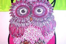 """Owl Every Thing!! Because I do """"Owl ART"""" I love every thing that is made like an """"OWL""""!! / I did """"Owl Art Work"""" back in 1976!! I traded my original art work for Doctor visits, Dentist visits and what ever I could!! The world was """"Owl Crazy"""" and I loved making art around them!! Now I am back at it again!! I love looking at all the things made around """"OWLS""""!! / by Lynnette Cooper"""