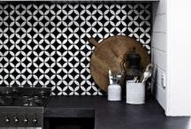 Interior / Collection of interiors that I would love to live in. From Morrocan to Scandinavian design. From mid century to cozy cottage to urban loft design. Black / white / grey / yellow / turquoise ....and more. Tiles with patterns / wood / mixed fabrics / mixed styles / rustic... / by step-van-b