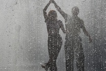 ♥ Loving the Rain ☔ Heaven tears of joy ♥ / Look carefully, and you will not see the rain through a window on this board....... / by Miriam Ramírez-Soto