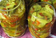 Canning Pickles, Relishes & Ferments / by jan