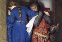 Pre-Raphaelite Brotherhood / John William Waterhouse, John Everett Millais,  John Collier, Edward Burne-Jones, Dante Gabriel Rossetti &+. / by Oli .
