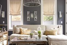 Salons / Living rooms / by Sandra Cliche