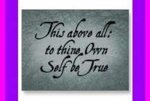 Weight LossTo Thine Own Self Be True / by Trice Ford