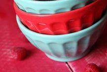 Aqua & Red Color Scheme / by Gina Burpee