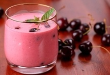 DRINKS: Drinks, Shakes & Smoothies / Recipes for non-alcoholic beverages including coffee, sweet teas, milk shakes, smoothies & protein drinks. / by Lilly Calandrello