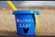 My Bucket List / by Kimberly Cadle
