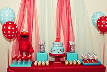 Elmo Themed Birthday Party Ideas / by Kara's Party Ideas .com
