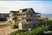 Luxury OBX Homes / Resort Realty is the only Outer Banks vacation rental company to offer two distinct levels of OBX luxury properties.  All luxury homes come with our premium linen service which includes sheets, towels and all beds made upon arrival.  / by Resort Realty Outer Banks