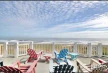 Breathtaking Outer Banks Views / A collection of most of the most OBX breathtaking views from our vacation rental homes. You can easily witness these views with your own eyes when you book your vacation with us. / by Resort Realty Outer Banks
