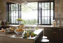 kitchens + eating / by Mandy Mayekawa