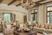 Living Room decor & design / by Mandi Robbins