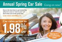 May Spring Auto Sale 2014 / Check out our Featured Dealers for rates as low as 1.98%! May 1st-31st, 2014)            Credit Problems???  We have new financing options that may help you get in the car you need!! / by WinSouth Credit Union