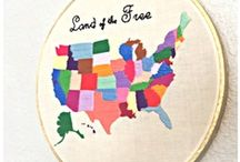 Map Projects / Update a room or piece of furniture by incorporating a map.  / by crafty texas girl