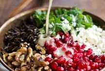 Recipes...SALADS & Appetizers / Salad recipes, dressings, dips, spreads, hummus, avocado.....yummy!!! / by Chris Langdon