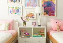Girls Bedroom / by Jessica Hammer
