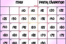 workout plans / by Joellen Mars