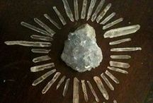 Altars, Crystals, Symbolism / Pictures that have some sort of spiritual/magical feel to them. / by Keira