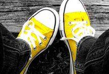 Yellow, Black & White / by FairyMary✿