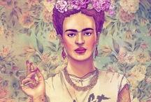 Frida Kahlo / by Caro Leona
