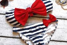 Clothing (Swim Suits) / by Christa Jarvis