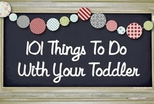 Toddlers & Preschoolers / Great products,crafts,and tips for raising toddlers and preschoolers. / by Jill Doan Leech