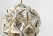 Paper / Hand craft made with paper. Manualidades hechas con papel. / by Inspiring Things