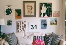 living space. / by Ashley Hayward