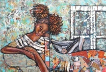Original Ethnic Artwork / This board consists of Original ethnic artwork by famous and emerging African American artists. / by The Black Art Depot