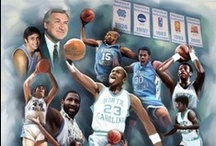 Carolina Pride! / This board features, recognizes and highlights individuals that went to the University of North Carolina - Chapel Hill.  Let's Go Tarheels! / by The Black Art Depot