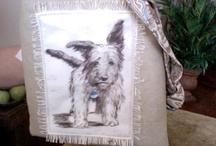 "DOG'S / ""ONE OF A KIND""  ARTIST HANDBAG'S WE LOVE THEM......  / by Pamela Mason"