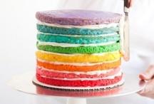Rainbow Cake / by Erin Clotfelter