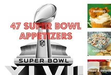 Super Bowl 47 Appetizers / 47+ Crunchy, Cheesy, Spicy, Sweet, Delicious appetizers for your Super Bowl party / by Erin Clotfelter